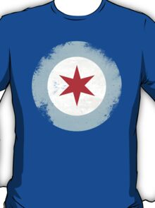 Chicago Mod Distressed T-Shirt