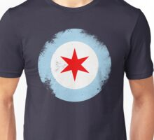 Chicago Mod Distressed Unisex T-Shirt