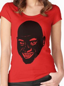 The Oily Spicy Chef (Ainsley Harriott [harriot]) Women's Fitted Scoop T-Shirt