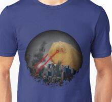 Guinea Pig Attacking Tokyo with Laser Eyes REDUX Unisex T-Shirt