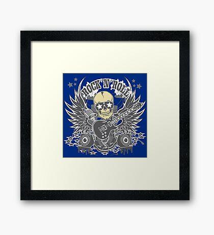 Rock N Roll Framed Print