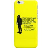 Arrow - Survive. iPhone Case/Skin