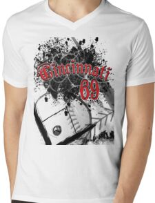 Cincy 69 Mens V-Neck T-Shirt