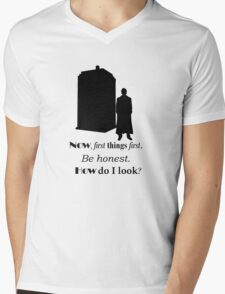 Doctor who - Ten's quote Mens V-Neck T-Shirt