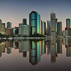 Brisbane reflection by Chris Lofqvist