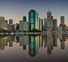 Brisbane reflection by Chris Lofqvist