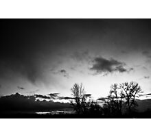Winter's deathly isolation. Photographic Print