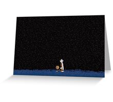 Calvin & Hobbes Greeting Card