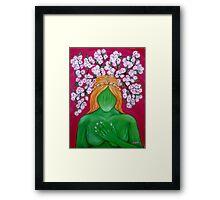 Demeter Goddess Framed Print