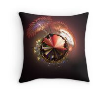 Planet Sydney 1111 Throw Pillow