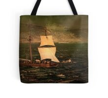 Pirate Ship In The Heads - Queenscliff Tote Bag