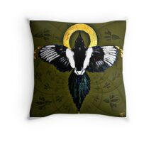 The Magpie Myth ~ One for your Wish Throw Pillow
