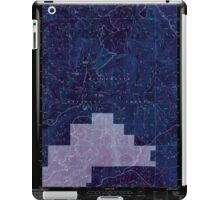 USGS Topo Map Oregon Groundhog Mountain 280110 1997 24000 Inverted iPad Case/Skin