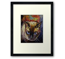 Seal Point Siamese Framed Print
