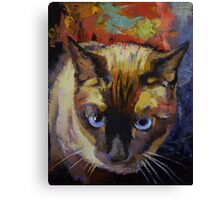 Seal Point Siamese Canvas Print
