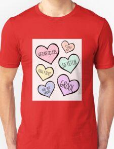 Mean Girls Candy Love Heart Design T-Shirt
