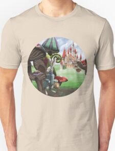Rabbit in the Wonderland Toadstool Forest T-Shirt