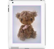 Ricky - Handmade bears from Teddy Bear Orphans iPad Case/Skin