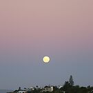 Moon Rise over Yeppoon by elsha