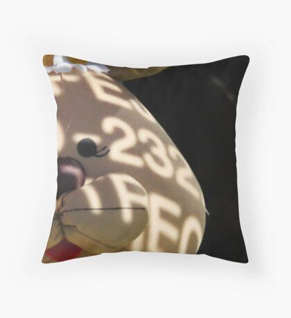 Matrix Bunny Throw Pillow