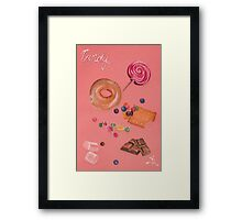 Pink Candy Framed Print