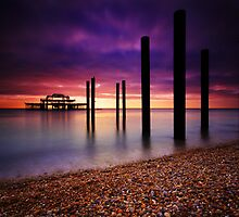 West Pier Brighton by Leon Ritchie