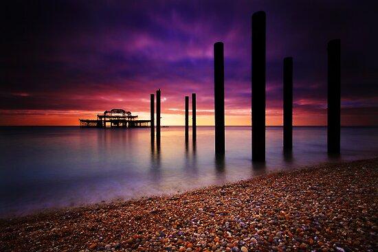 West Pier Brighton by Leon Ritchie