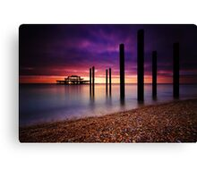 West Pier Brighton Canvas Print