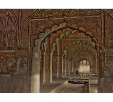 Deewan E Aam (Red Fort- Delhi) Photographic Print