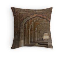Deewan E Aam (Red Fort- Delhi) Throw Pillow