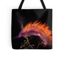 Flaming Tongue Tote Bag