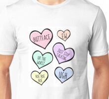 Candy Love Heart Collection Unisex T-Shirt