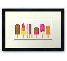Lolly Collection 02 Framed Print