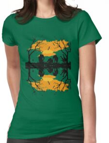 Hello Africa Womens Fitted T-Shirt