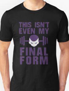 This isn't even my final form Freeza DragonBall Z Goku Training To Go Super Saiyan It's Over 9000 Train Insaiyan Or Remain The Same Anime Cosplay Gym T Shirt T-Shirt