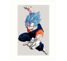 Super Saiyan God Super Saiyan Vegito Art Print