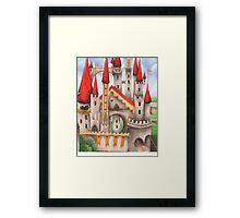 Hearts and Turrets Framed Print