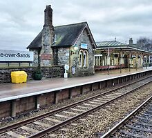 Grange over Sands Railway Station. by Lilian Marshall