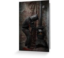 Ned Kelly The morning after Greeting Card
