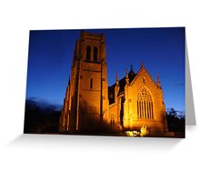 St. Saviours Anglican Cathedral Goulburn, NSW Greeting Card