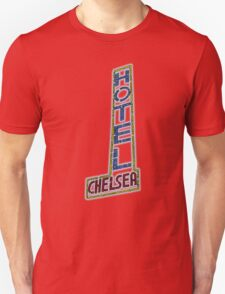 Hotel Chelsea Legends Typography Unisex T-Shirt