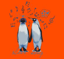 King Penguin's Love Song Kids Clothes