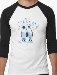 King Penguin's Love Song Men's Baseball ¾ T-Shirt