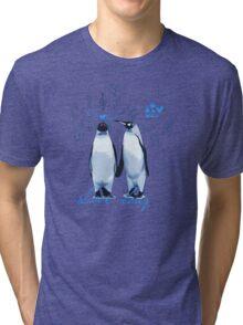King Penguin's Love Song Tri-blend T-Shirt