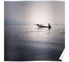 Inle Lake Poster