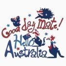 Hello Australia! Good day mate by cheeckymonkey
