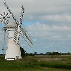 Thurne Dyke Windmill by BizziLizzy