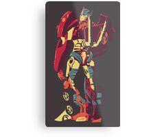 Optimus Glance Metal Print