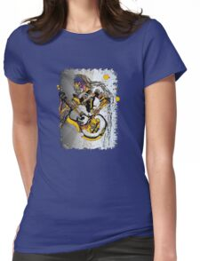The Psychedelic 60's Womens Fitted T-Shirt