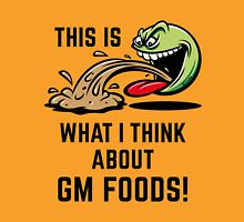 This Is What I Think About GM Foods! (Emoticon Smiley Meme) Unisex T-Shirt